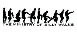 Ministry Silly Walks